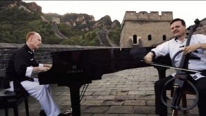 The Piano Guys Perform on the Great Wall of China