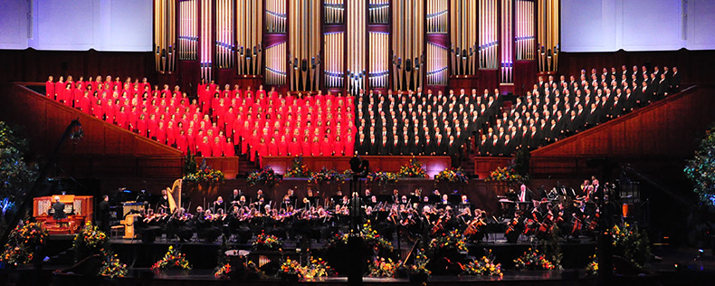 "LDS ""Music and the Spoken Word"""