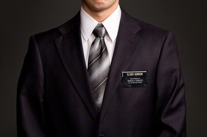 Mormon missionary tag