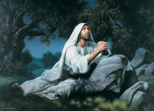 Jesus Praying in the Garden of Gethsemane