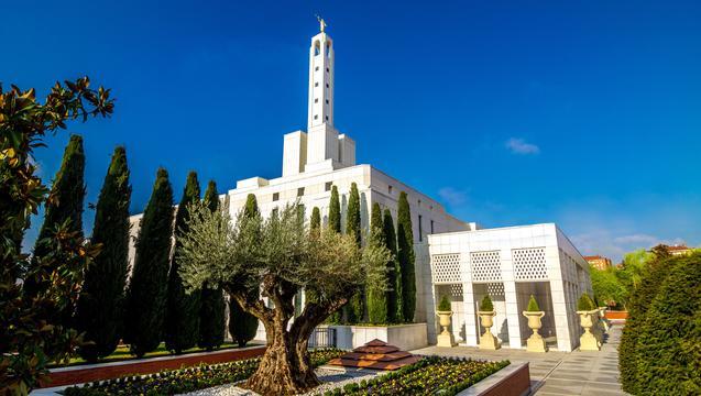 Madrid Spain Temple