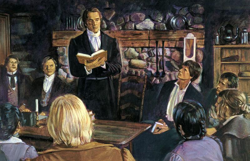 Joseph Smith organizes the Church