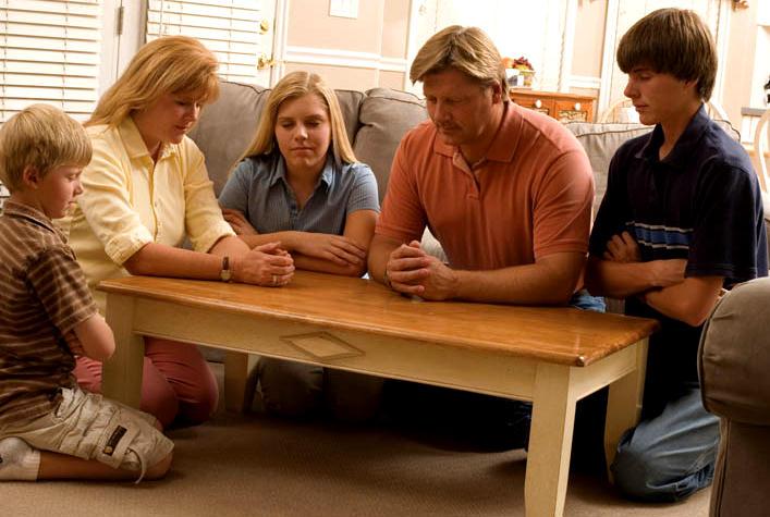 Mormon Family Praying