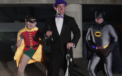 Batman's Villains Create Boy Band
