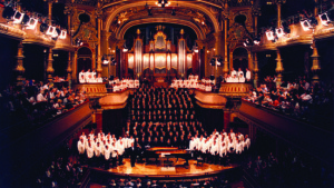 Mormon Tabernacle Choir at Geneva Victoria Hall in 1998