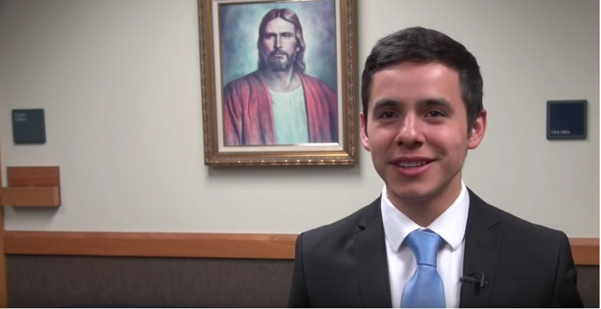 David Archuleta Sings to Mormon Missionaries in New Zealand