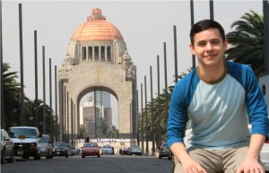 David Archuleta in Mexico City