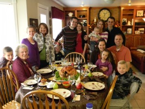 Thanksgiving Family Gathering