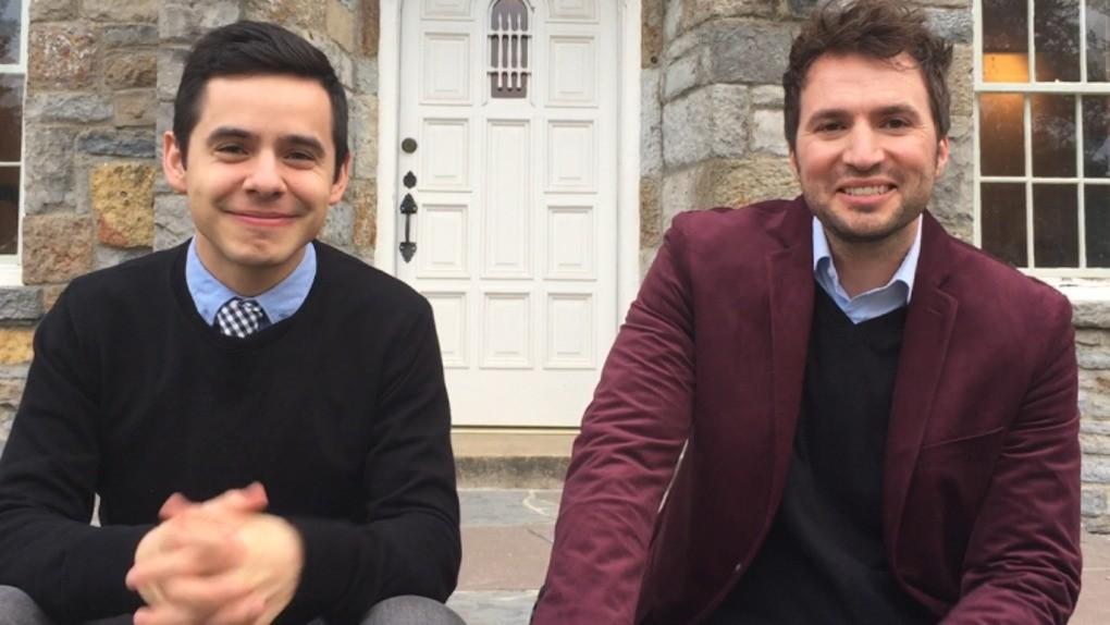 David Archuleta and Nathan Pacheco