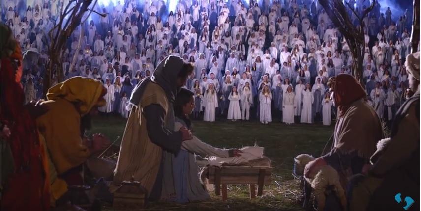 Largest Live Nativity