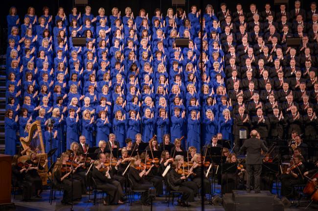 mormon tabernacle choir and orchestra - Jackie Evancho cantará el himno de EEUU en la asunción de Trump