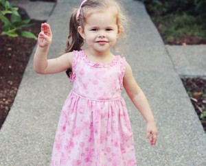 Claire Ryann Crosby - 3 Years Old