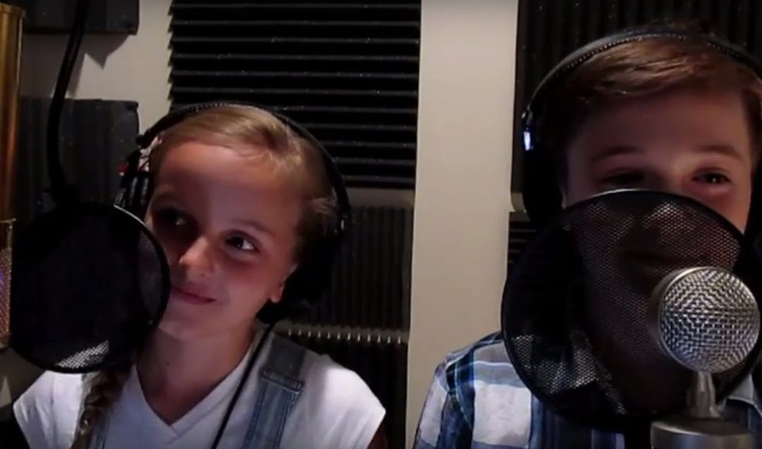 """Evie Clair and Josh Mortensen – """"At the Beginning"""" Cover"""