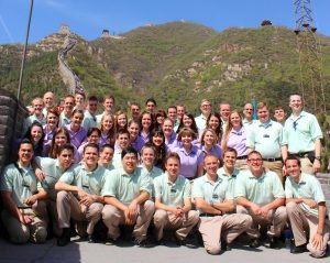 BYU Young Ambassadors - Great Wall of China