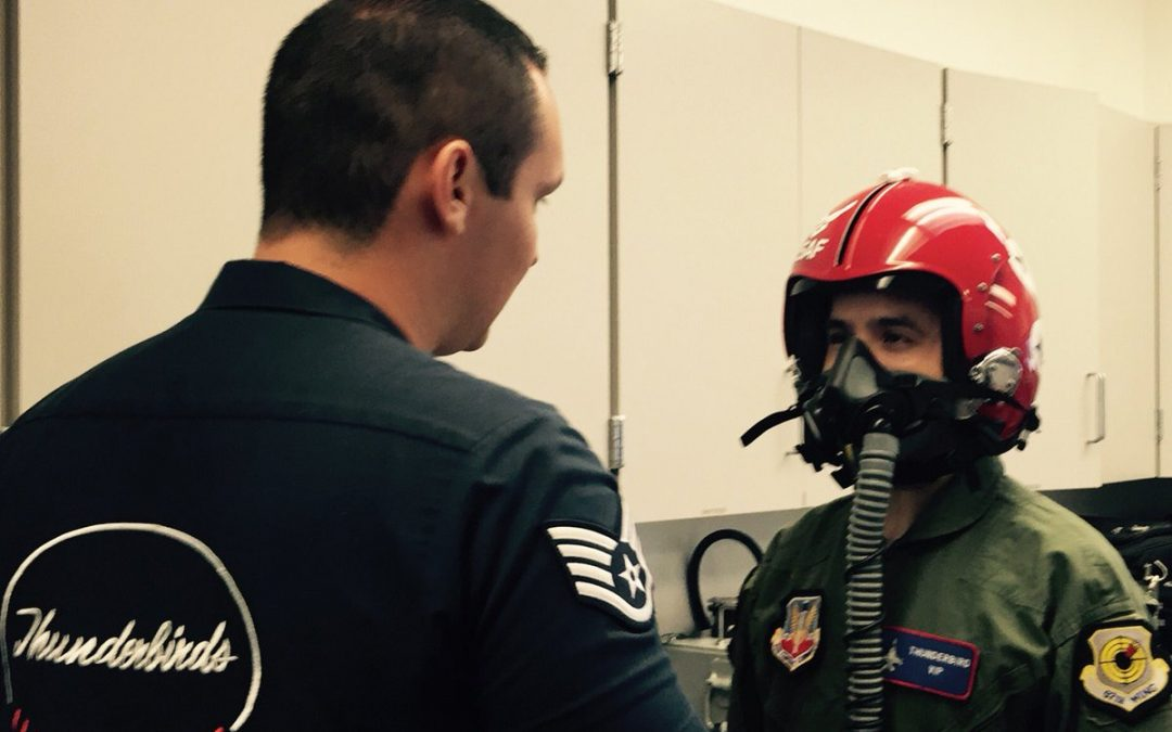 David Archuleta Takes to the Sky with USAF Thunderbirds
