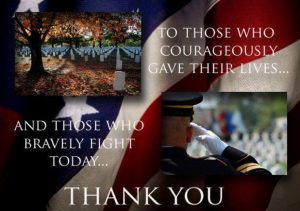 Thank You to the Men and Women Who Serve