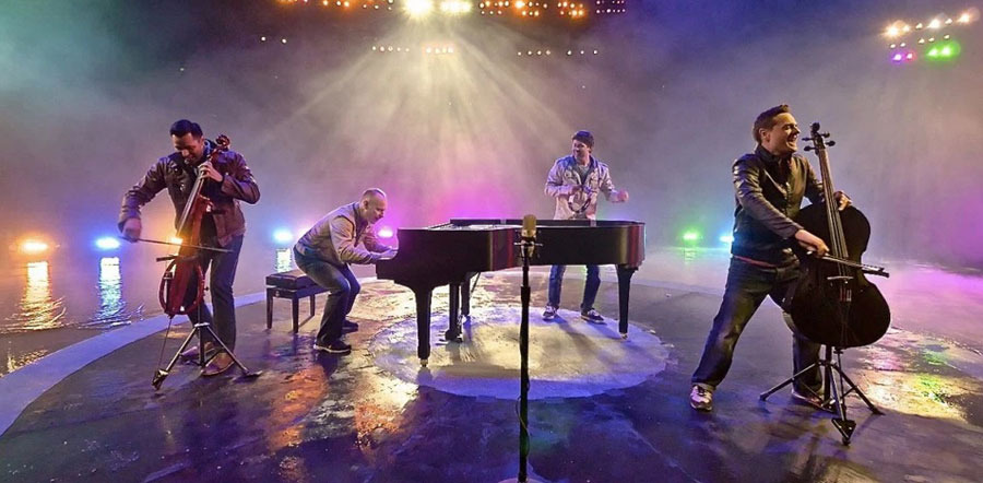The Piano Guys Receive First Gold Record in Front of Hometown Audience