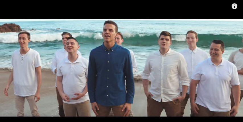 BYU Vocal Point Goes the Distance in New Music Video - Latter-day