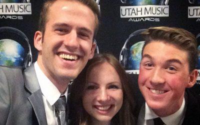2016 Utah Music Award Winners – Tyra Orgill, Sander Morrison, and Jason Lyle Black