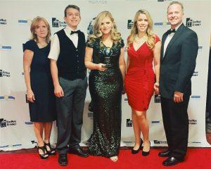 Jennifer Thomas at 2016 Utah Music Awards