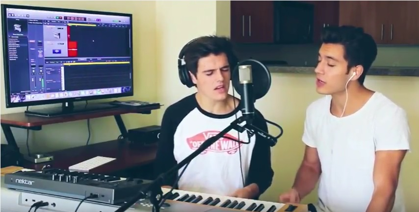 Kenny Holland and Gabriel Conte