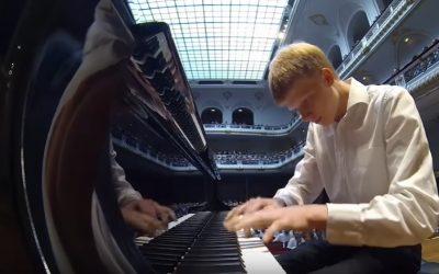 Nathan Schaumann's Virtuoso Performance in Laeiszhalle, Hamburg, Germany