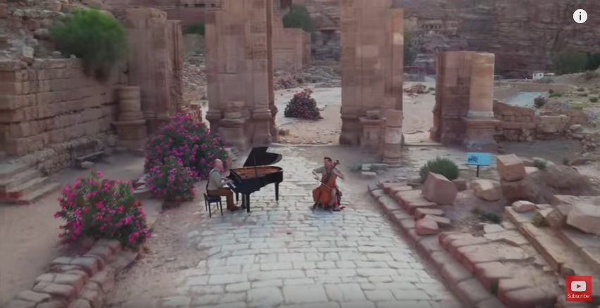 The Piano Guys – Indiana Jones and the Arabian Nights Collide in Petra