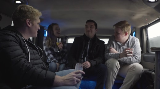 Stuart Edge - Picking Up People in a Hummer Limo