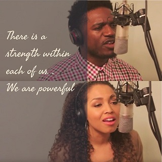 """Yahosh Bonner and Brittany Williams Dynamic Cover of """"Powerful"""""""