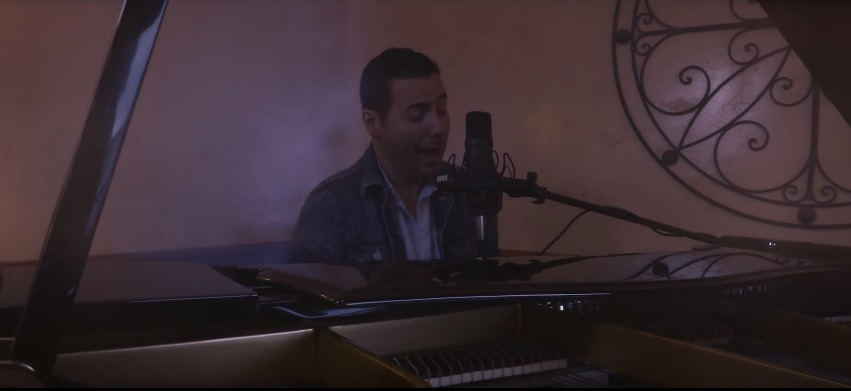 """Christopher Meek Offers Hope with Rendition of """"Somewhere Over the Rainbow"""""""