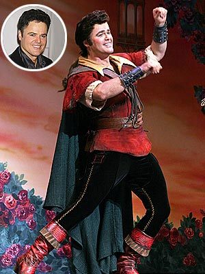 Donny Osmond - Gaston - Beauty and the Beast