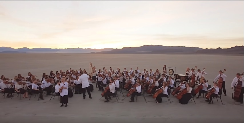 "American Heritage Lyceum Philharmonic's Inspiring Performance of ""If You Could Hie to Kolob"""