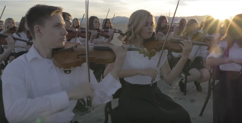 American Heritage Lyceum Philharmonic - If You Could Hie to Kolob