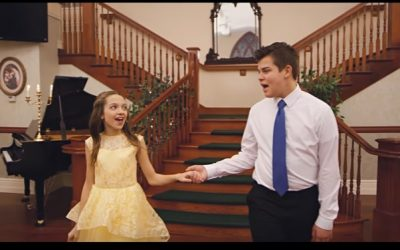 """Kenya Clark and Matthew Caldwell Recapture Magic of """"Beauty and the Beast"""" in New Video"""