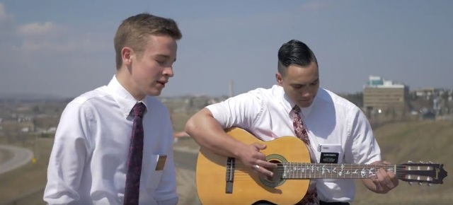 Two Missionaries Use Musical Talents to Create Missionary Song – Beautiful Days