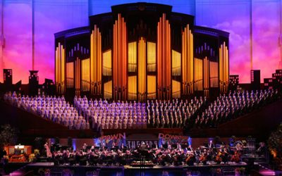 Mormon Tabernacle Choir's New Album Ranks #1 on Billboard Charts
