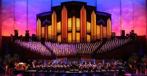 Mormon Tabernacle Choir's New Album Ranks #1 on Billboard Charts