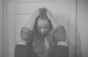Aidree, a foster care teen, feeling hopeless