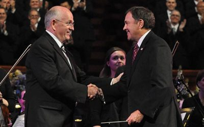 Utah Governor Herbert Becomes First Governor to Conduct Mormon Tabernacle Choir