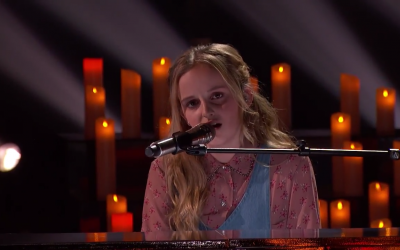 13-Year-Old Evie Clair Receives Standing Ovation After Stunning Performance on America's Got Talent