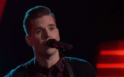 """Dave Crosby, Dad of Claire Ryann Crosby, Auditions for """"The Voice"""""""