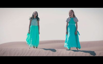 "Kenya Clark and Sara Arkell Sing ""Amazing Grace (My Chains Are Gone)"""