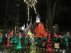 Temple Square at Christmas