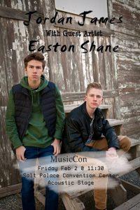 Jordan James and Easton Shane in Concert