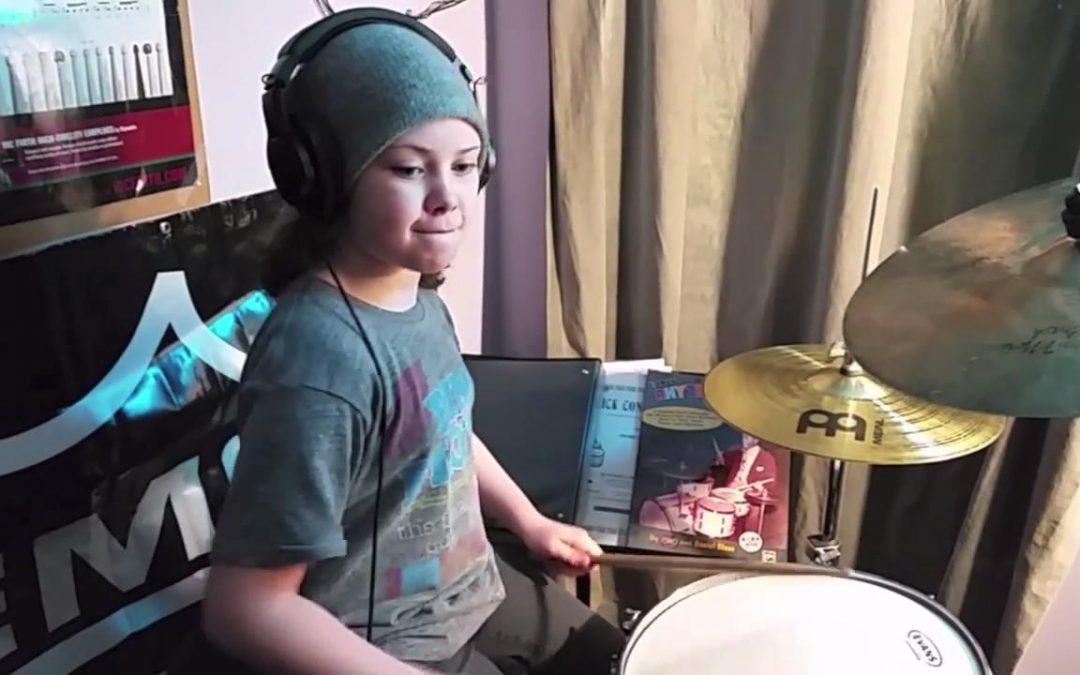 "Utah Drummer, 10-Year-Old Milana Nigro to Appear on NBC's ""Little Big Shots"""