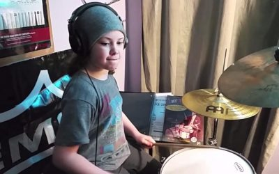 "Utah Drummer, 10-Year-Old Milana Nigro to Appear on NBC's ""Little Big Shots"""