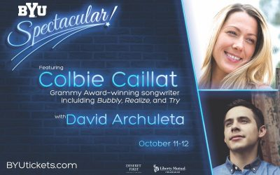 David Archuleta to Share the Stage with Colbie Caillat for BYU Spectacular 2018