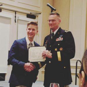 Easton Shane - Military Kid Award