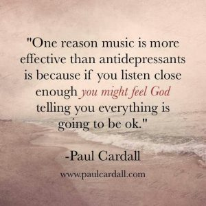 Paul Cardall Music Quote