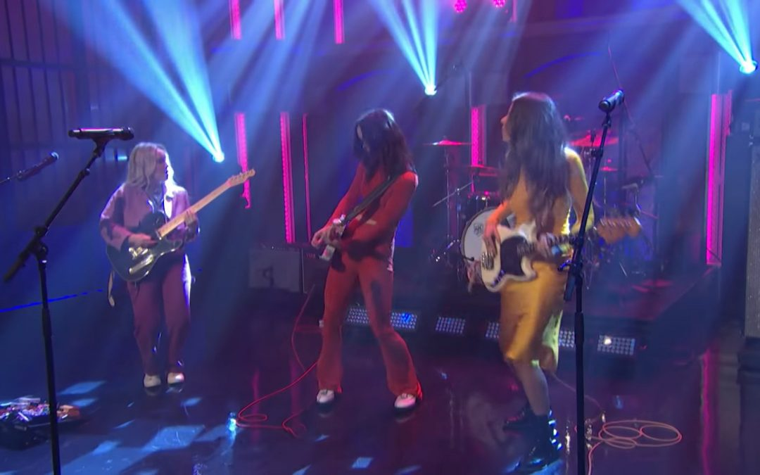 The Aces Make Debut Appearance on Late Night with Seth Meyers